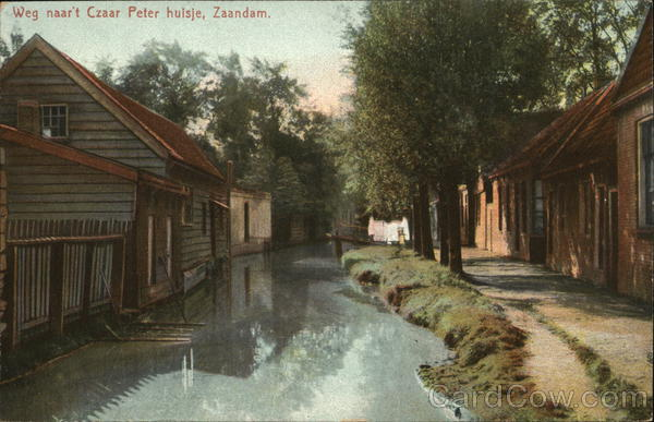 Road to Czar Peter's House Netherlands Benelux Countries