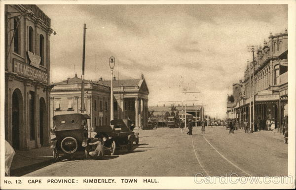 Town Hall Kimberley South Africa