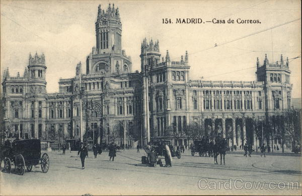 Casa de Correos Madrid Spain Spain, Portugal