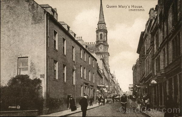 Queen Mary's House Inverness Scotland