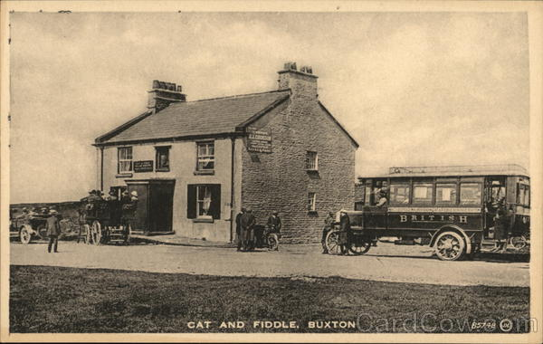 Cat and Fiddle Buxton England