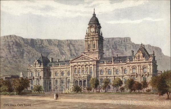 View of City Hall Cape Town South Africa A.R. Quinton