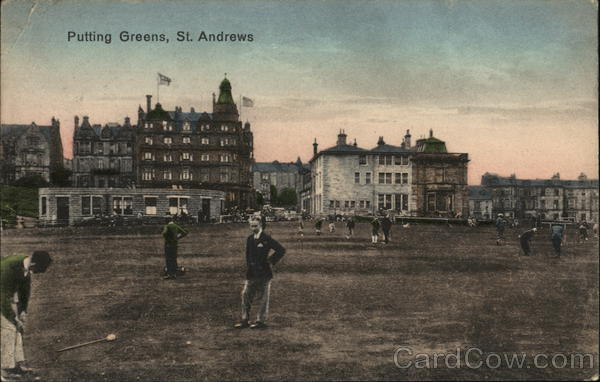 Putting Greens St. Andrews Scotland