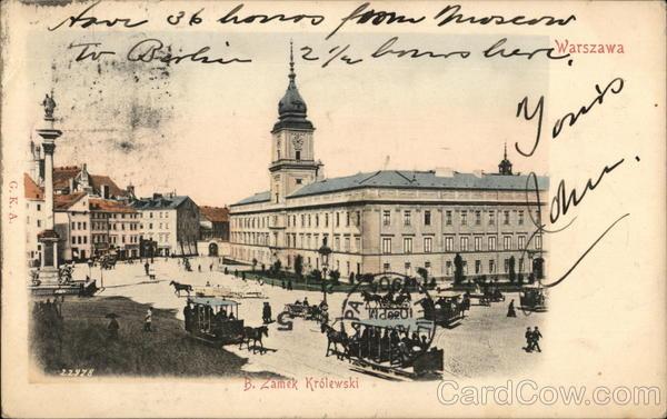 Warszawa Warsaw Poland Eastern Europe