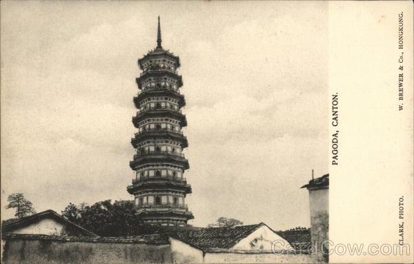 Pagoda Canton China Clark