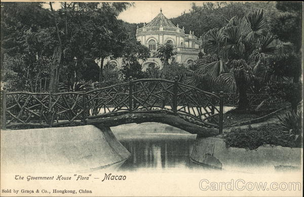 Government House and Gardens Macao China