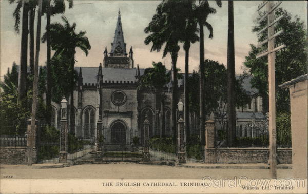English Cathedral Port of Spain Trinidad Caribbean Islands