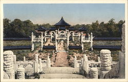 Altar of Heaven Looking Towards Temple of Heaven Postcard