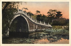 Camel Back Bridge, Summer Palace Postcard