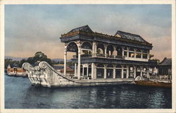 The Marble Boat, Summer Palace Postcard