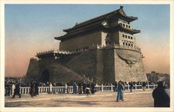 Watch Tower of Chien-Men Postcard