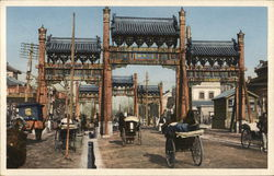 Wooden Arches, Eastern City Postcard