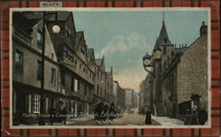 Huntley House & Canongate Tollbooth Postcard