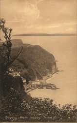 Clovelly from Hobby Drive Postcard