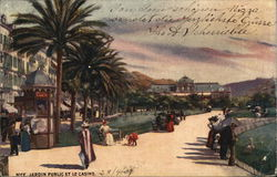 Public Garden and Casino Postcard