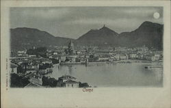 View of City and Lake