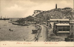 Aden St. er Point Post Office, Bay Postcard