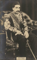 Abdul Hamid, Sultan of Turkey