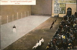 Spanish Typical Basketball Game, Jai Alai