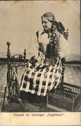 Girl with Spinning Wheel