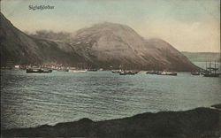 View of Town and Fjord