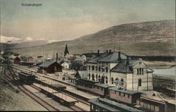 Town and Railway Station