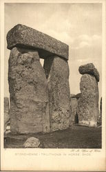 Stonehenge - Trilithons in Horse Shoe