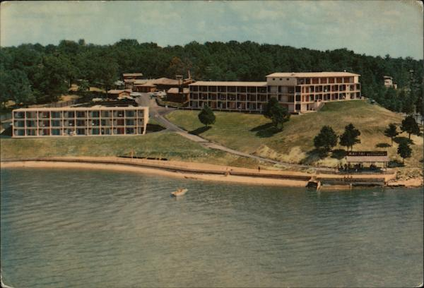 mai tai resort motel osage beach mo postcard. Black Bedroom Furniture Sets. Home Design Ideas