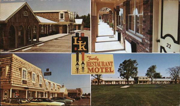 L-K Family Motel and Restaurant Mansfield Ohio
