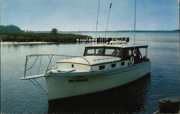 Go fishing with capt bert raffield panama city fl postcard for Deep sea fishing panama city beach prices