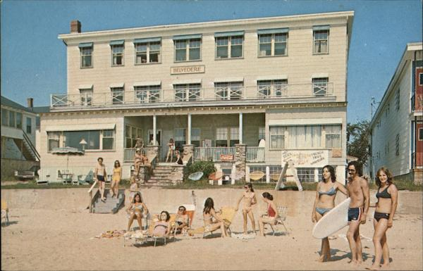 Hotel Belvedere Old Orchard Beach Maine Aladdin Color
