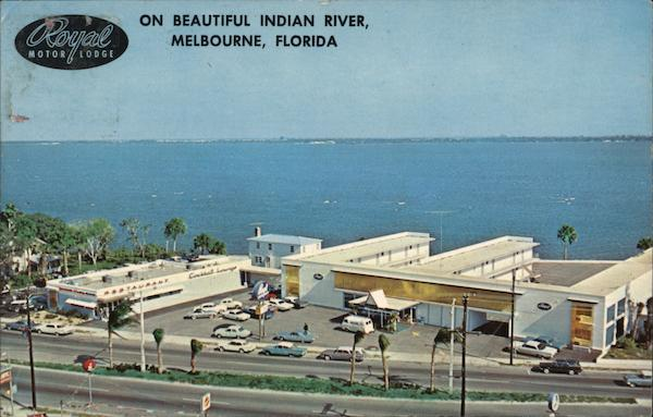 Royal Motor Lodge on Beautiful Indian River Melbourne Florida