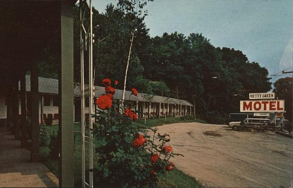 Hetty Green Motel Bellows Falls Vermont