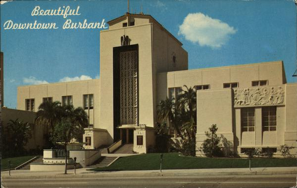 A View of City Hall Burbank California Ellis and Sawyer
