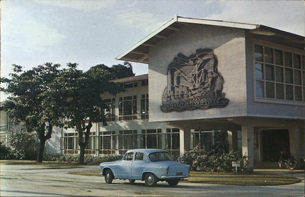 Commissioner Building Paramaribo Suriname South America