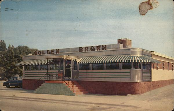 Golden Brown Diner Tampa Florida