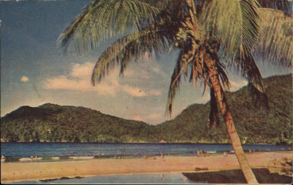 Maracos Bay Trinidad Caribbean Islands