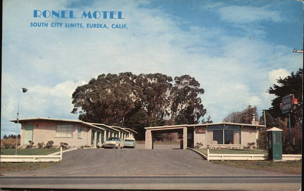 Ronel Motel Eureka California