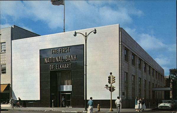 The First National Bank of Elkhart Indiana