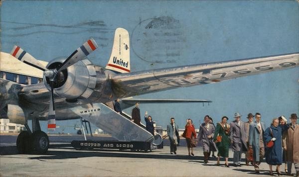United Airlines DC-6 and DC-6B Aircraft
