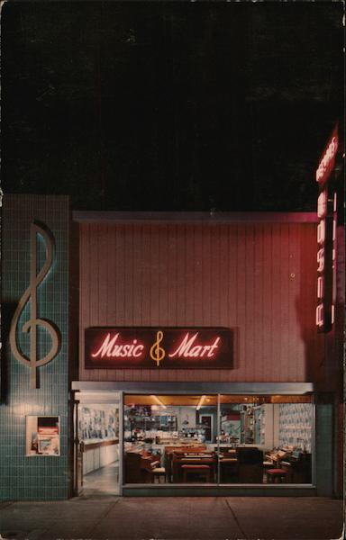 Arcadia Music Mart California