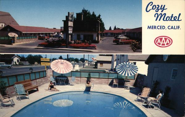 Cozy Motel Merced California