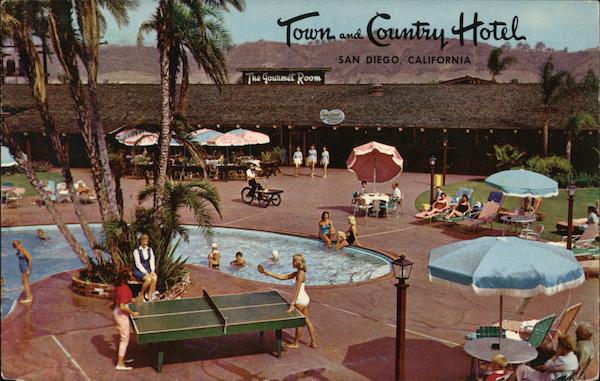 Town and Country Motel San Diego California