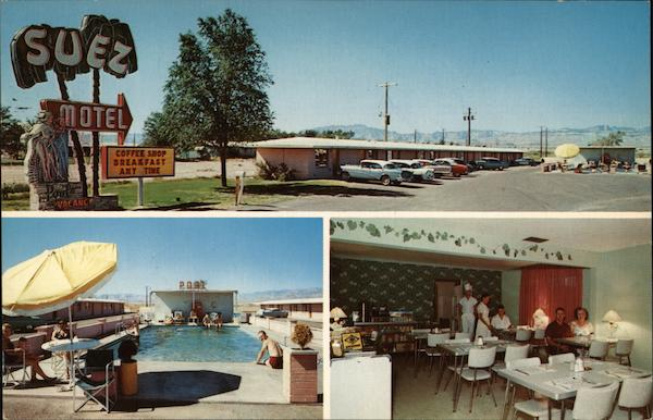Suez Motel and Coffee Shop Las Vegas Nevada