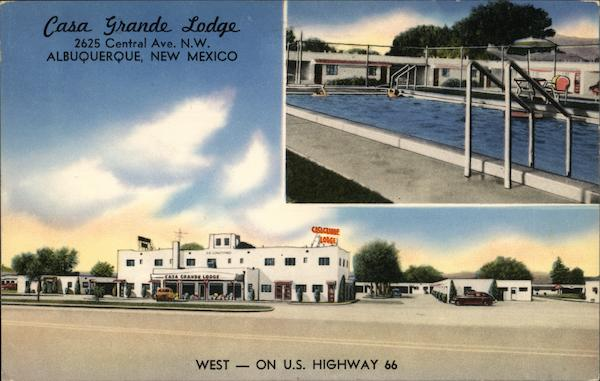 Casa Grande Lodge Albuquerque New Mexico
