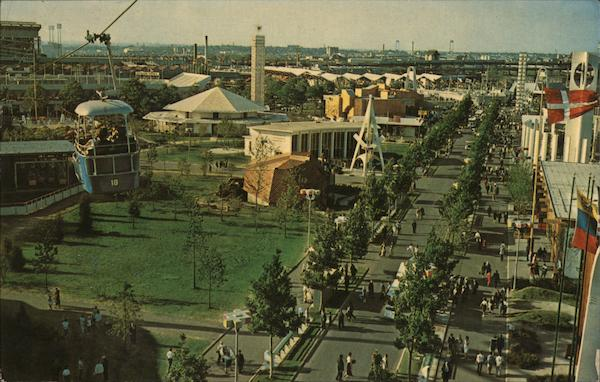 Along the Avenue of the Americas 1964 NY Worlds Fair