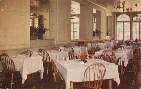 Dining Rooms, Boone Tavern, Berea College Kentucky