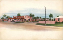 Capri Motel and Restaurant Postcard