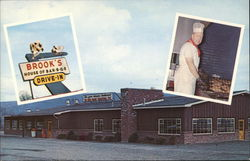 Brooks House of Bar-B-Q's Drive-In Restaurant