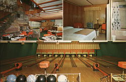 Dairy Center Motel and Restaurant Postcard